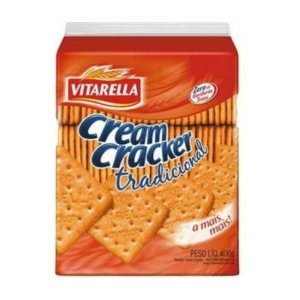 Cream Cracker Tradicional Vitarella 400g
