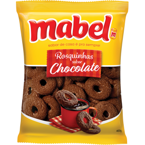MABEL ROSQUINHA SABOR CHOCOLATE 400g