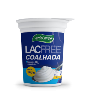 COALHADA LACFREE VERDE CAMPO 140G