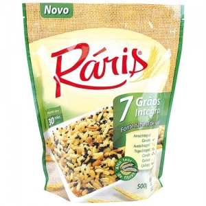 ARROZ RÁRIS 7 CEREAIS INTEGRAIS 500G