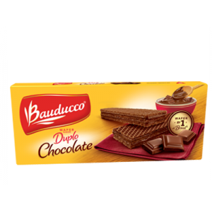 BISCOITO WAFER BAUDUCCO 78G  DUPLO CHOCOLATE