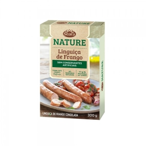 LINGUIÇA DE FRANGO SEARA NATURE 320G